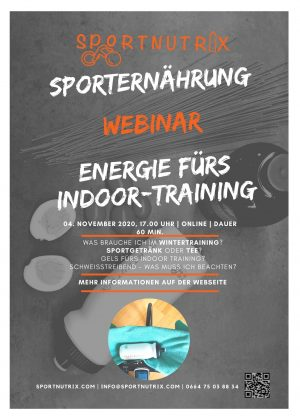 Webinar Indoor Training